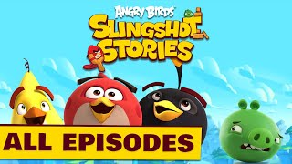 Angry Birds Slingshot Stories | Compilation - S1 All Episodes