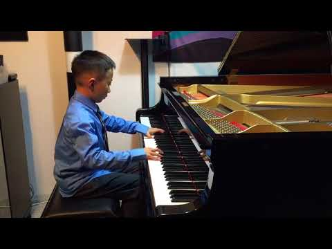 "Marek Performing ""Allegro Agitato"" by Jon George, RCM Etude Level 5"