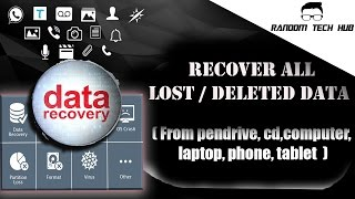 EASIEST & FASTEST WAY TO RECOVER YOUR LOST/DELETED DATA 🗑🔄📲