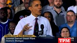 Obama: Right-To-Work Laws Mean