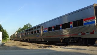 Two Viewliner Diners on California Zephyr