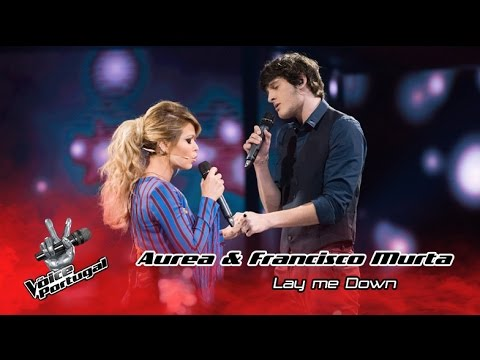 Francisco Murta e Aurea - Lay me down (Sam Smith) | Gala Final | The Voice Portugal
