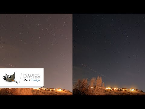 How to Edit Astrophotography in GIMP thumbnail