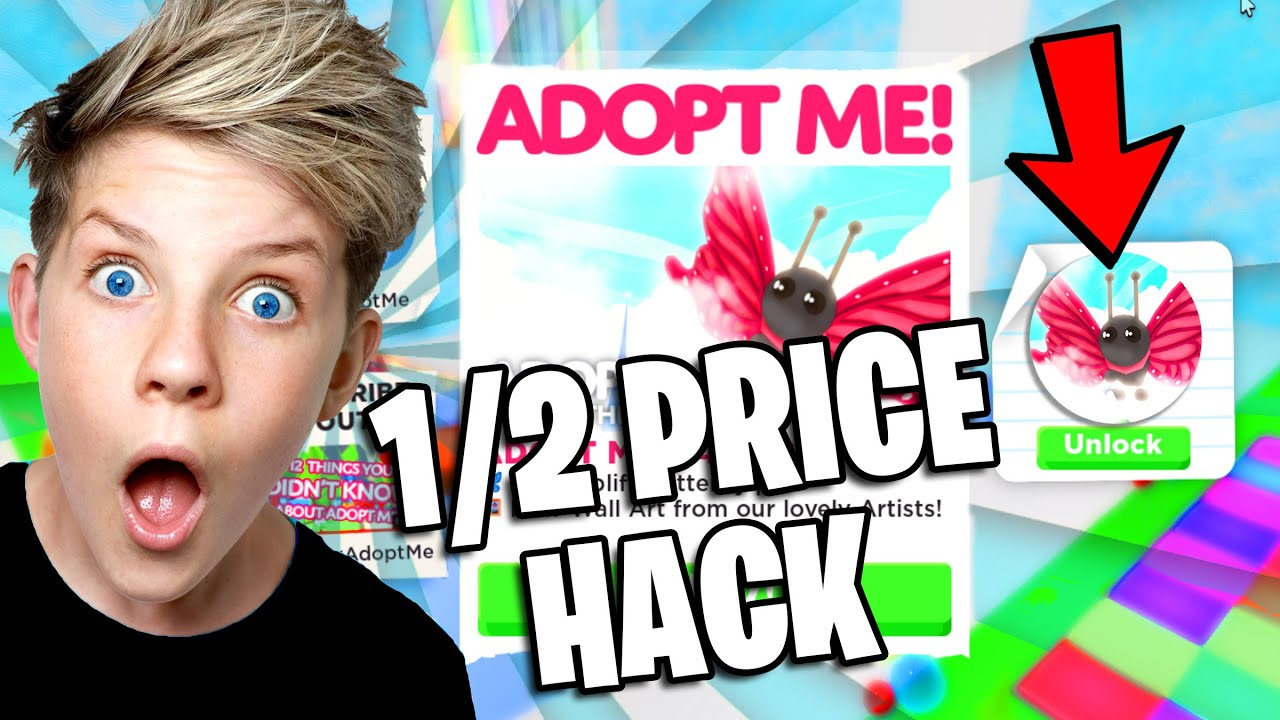 HACK TO GET Adopt Me BUTTERFLY PET HALF PRICE in Roblox Adopt Me! Prezley