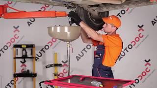 Hogyan és mikor cseréljünk benzin és dízel Üzemanyagszűrő OPEL CORSA B (73_, 78_, 79_): videó kézikönyv