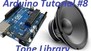 Arduino Tut. #8 - Arduino-Tone & Sounds - Super Mario Thema