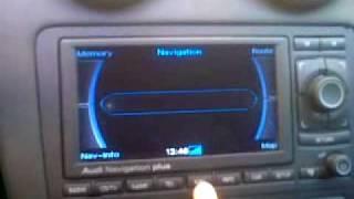 audi a3 rns e video and reverse camera
