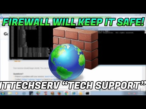 "TECH SCAMMERS SAYS I ONLY NEED A FIREWALL ""itechitservices"" 