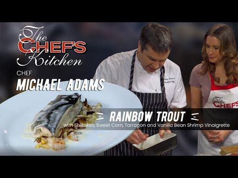 Chef Michael Adams-Rainbow Trout