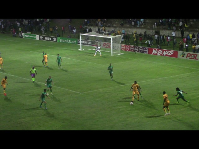 Absa Premiership 2018/19   AmaZulu FC vs Kaizer Chiefs (2-3)   First Goal