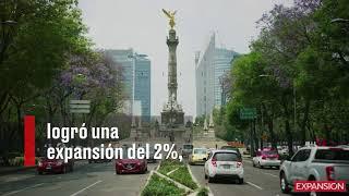 A pesar del TLCAN y las elecciones, el PIB de México se expandió 2% en 2018