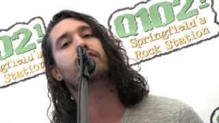 q102 rock room sessions red sun rising emotionless acoustic