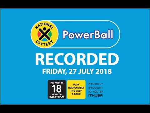 PowerBall Results - 27 July 2018