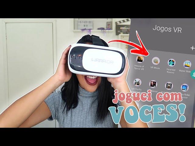TESTANDO JOGOS VR | REALIDADE VIRTUAL