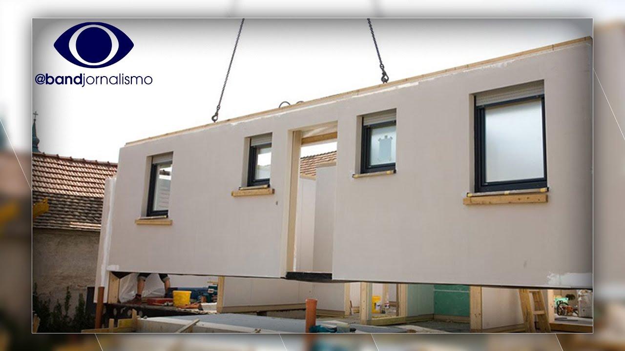 """""""Casas de lego"""": construção modular cresce no Brasil"""
