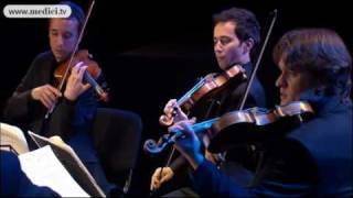 Quatuor Ebène - Beethoven String Quartet No. 7 in F major, op. 59 No. 1 - Verbier Festival 2010