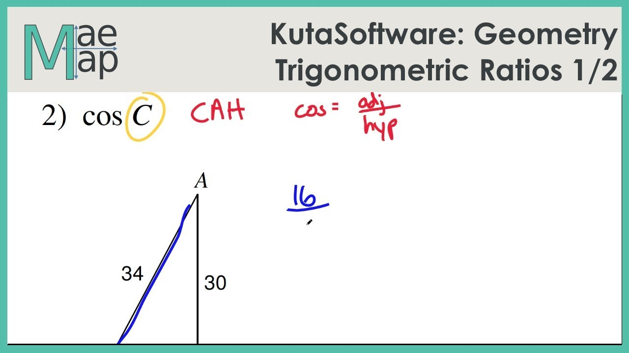 Geometry Trigonometric Ratios Part 1