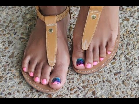 how to prepare for a pedicure