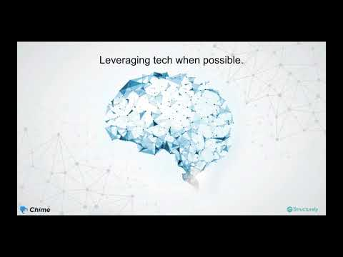 How you can leverage technology to advance, expand, and dominate - Structurely and Chime