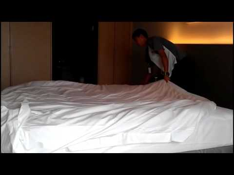 Professional Bed Making In Housekeeping Step By Step Procedure ▻  Housekeeping   Topic