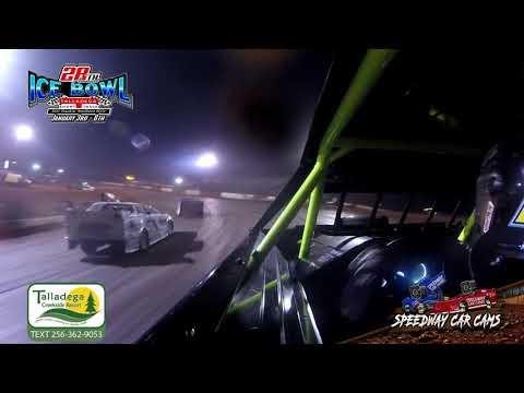#409 Allen Carter - Street Stock - 1-6-19 Talladega Short Track - In Car Camera