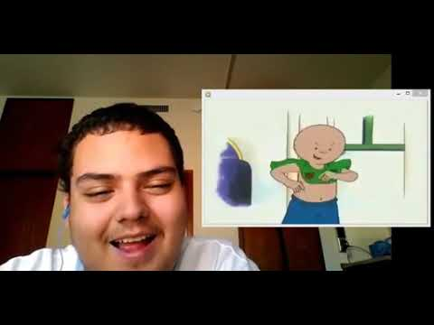 (Reupload) Reaction #5 - Caillou has an unhealthy obsession with his T-shirt and yodeling - .