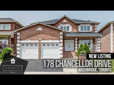 SOLD! 178 Chancellor Drive In Woodbridge, Vaughan! (Ontario, Canada)