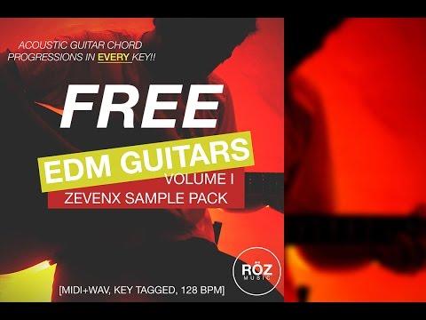FREE EDM GUITAR SAMPLE PACK!