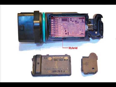 110 Electrical Schematic Wiring Diagram Mass Air Flow Sensor Bosch Youtube
