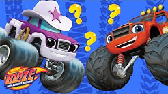 Whose MONSTER Tracks Are These?! ? Blaze and the Monster Machines Guessing Game   Nick Jr.