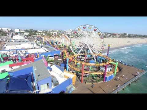 Santa Monica - Los Angeles Drone Video Services