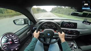 BMW M5 F90 competition 0-310km/h