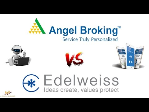 Angel Broking vs Edelweiss Broking - Detailed Comparison - Pricing, Platforms, Exposure