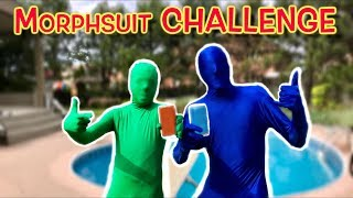MORPHSUIT CHALLENGE - TRY NOT TO LAUGH! 😂 | Christian Lalama