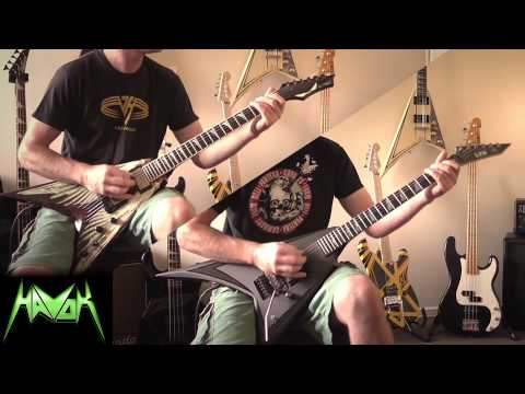 Havok   From The Cradle To The Grave Guitar Cover