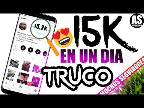 Como Conseguir Muchos Seguidores en Instagram Fácil y Rápido en 2018 | 15K En UN DIA !!!