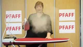 Pfaff Integrated Ironing System - Making Ironing Easier!