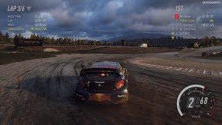 DiRT Rally 2.0 - Peugeot 208 WRX - Hell Rallycross Gameplay [4K 60FPS]