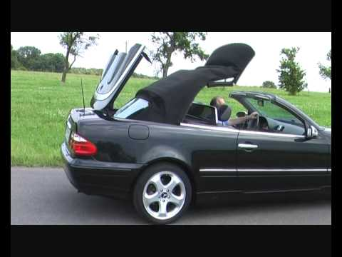 kofferset mercedes clk w208 www cabriostore nl youtube. Black Bedroom Furniture Sets. Home Design Ideas