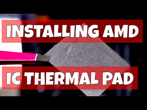 Going Stock AMD Cooling And IC Thermal Pad