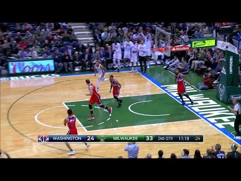 Quarter 2 One Box Video :Bucks Vs. Wizards, 1/8/2017 12:00:00 AM