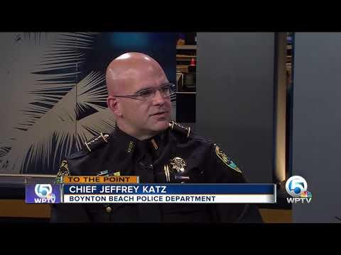 To The Point 12/3/17: Boynton Beach Police Chief Jeffrey Katz