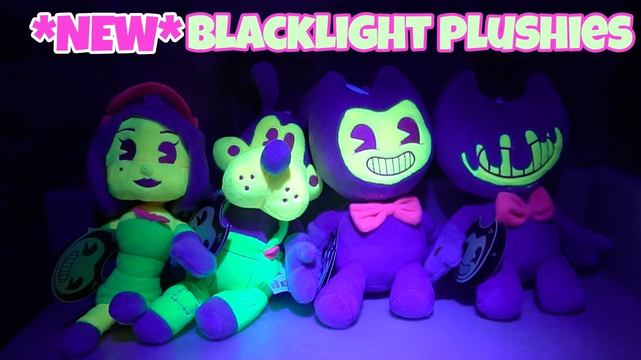 BENDY AND THE INK MACHINE BLACKLIGHT PLUSH INK BENDY
