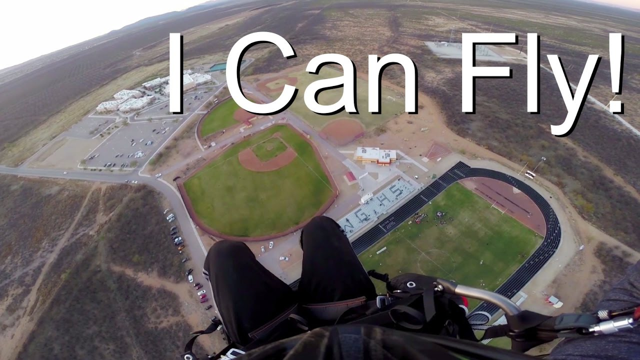 Gryph0n Can Fly! - Paramotor in Arizona
