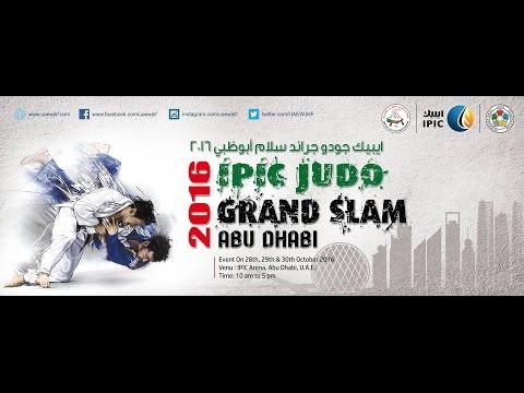 IPIC Judo Grand Slam Abu Dhabi - 2016 (Day 01) Finals  #JudoAbuDhabi2016