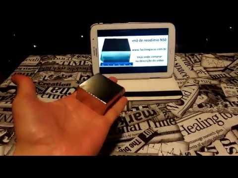 f559889d94f Parando Relógio Com Energia Magnética do imã de Neodímio N50 - YouTube