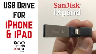 USB Drive for iPhone and iPad - SanDisk iXpand