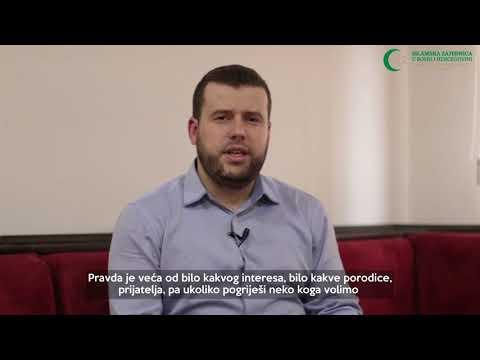 Poziv vjernicima (9) - Obaveza pravednosti - hafiz Ammar Bašić