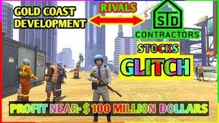 Gta 5 STD contractors Rivalry glitch $ 100 million easy money ( GoldCoast rivals )