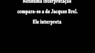 Jacques Brel   Ne me quitte pas  (Legendado em portugues)